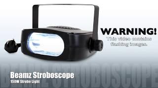 Beamz Stroboscope Power Strobe Club Light Party Disco DJ Lighting Effect Unit