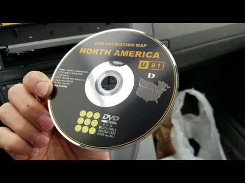 How To Insert And Or Eject CD Or DVD Disc From 2010 Toyota Prius With Navigation
