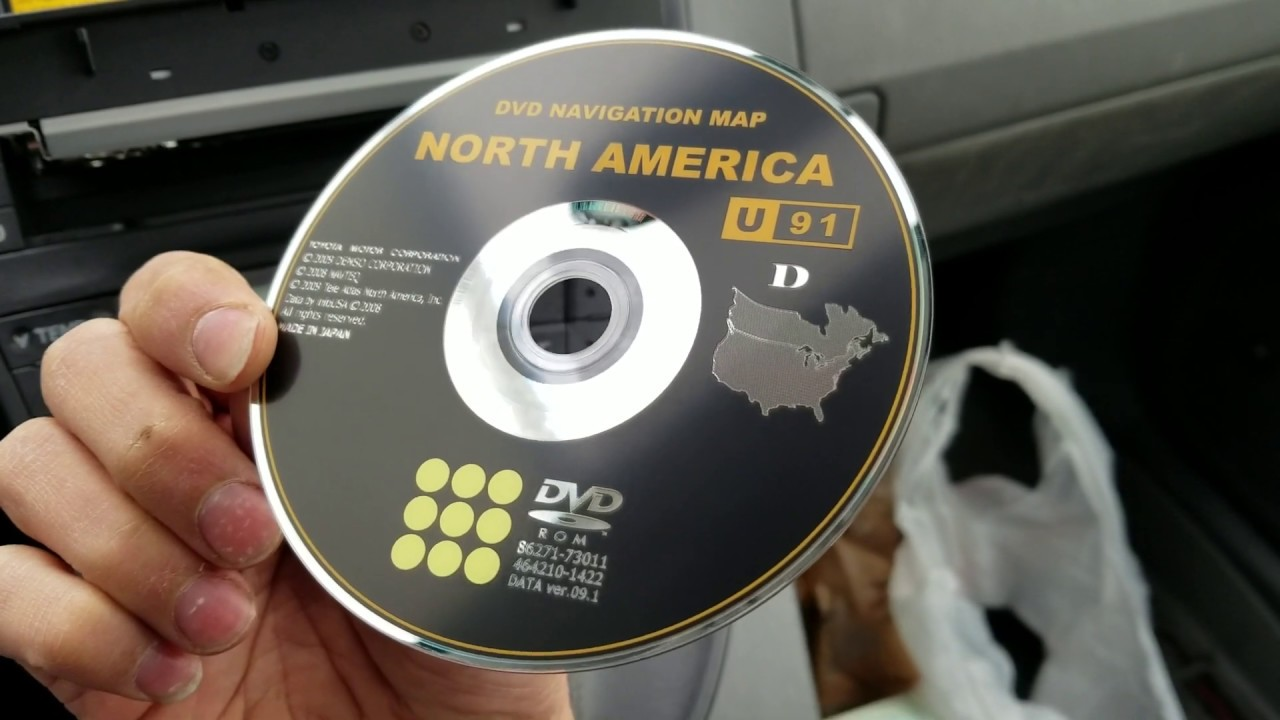 How to insert and or eject CD or DVD disc from 2010 Toyota Prius with Dvd Navigation Map North America Toyota on auto manufacturing in usa map, toyota plant, supply chain map, walmart map,