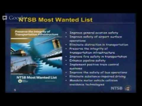 NTSB Presents: Loss of Control During Takeoff and Landing by NTSB Board Member Earl F. Weener, Ph.D.