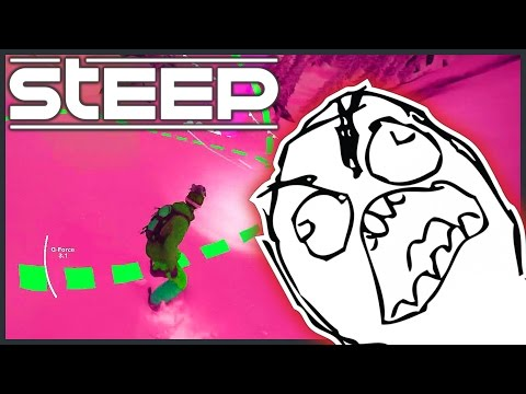 HARDEST CHALLENGE IN THE GAME (Most Difficult Race In The Beta?) - Steep [#7]