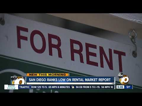 San Diego Ranks Low On Rental Market Report