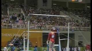 Winner Olympics 2004 Uneven Bars Women's