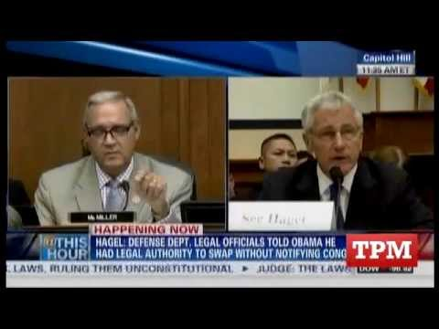 Hagel Lashes Out At GOP Rep For Raising Suspicions On Bergdahl