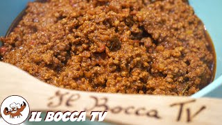 450 - Ragù toscano...la fatica non è invano! (ricetta sugo di carne tipico toscano fatto in casa)