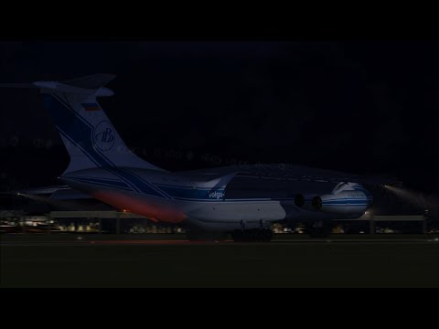 Bridgetown, Barbados (BGI) to Hamburg, Germany (HAM) in an IL-76