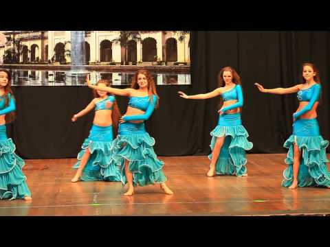 Группа дети Школа Восточного Танца Шейх Али Маргариты