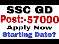 ssc gd vacancy 2018 | CISF, CRPF, BSF, ITBP |