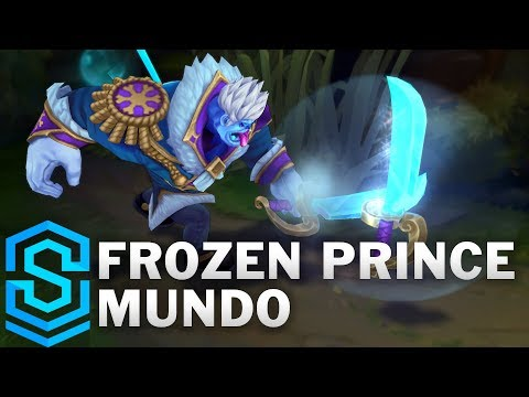 Frozen Prince Mundo Skin Spotlight - Pre-Release - League of Legends