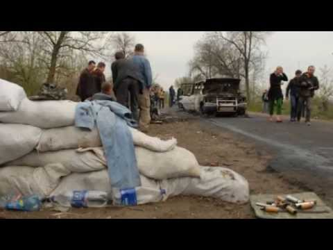 Shooting adds tensions to 'Cold War' standoff in Ukraine - 21/04/2014