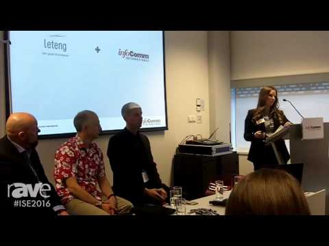 ISE 2016: Pamela Taggart of InfoComm Leads Press Conference on International and European Partners