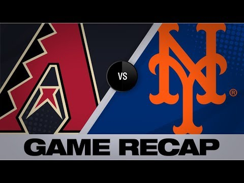 Alonso's 2 homers, deGrom propel Mets to win   D-backs-Mets Game Highlights 9/9/19