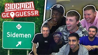 THE SIDEMEN PLAY: GEOGUESSR!