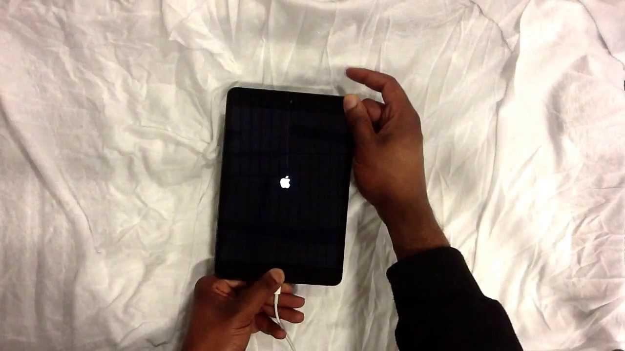 How to restore a password locked iPad Mini. - YouTube