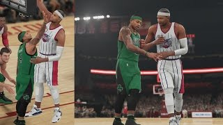 Nba 2k16 ps4 my career - 1st game as a starter!