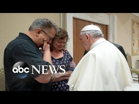 Pope Francis Meets Family of US Student Killed in Rome