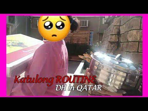 MGA ILANG GAWAIN SA BAHAY NI MADAM / DH in QATAR daily routine  #OFW in QATAR