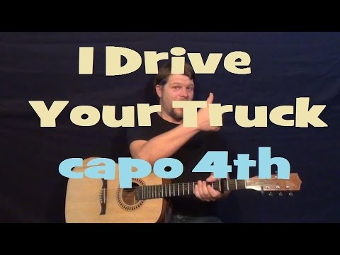 I Drive Your Truck (Lee Brice) Easy Strum Guitar Lesson - How to Play Chord