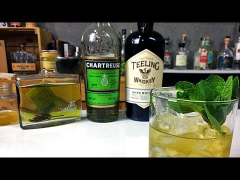 An Old Fashioned with Green Chartreuse and ABSINTHE!?