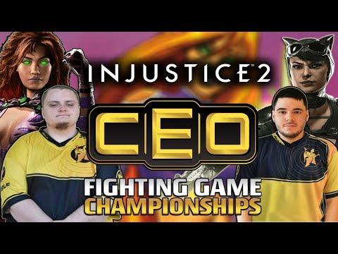 Briga entre mulheres - Grande Final CEO 2018 Injustice 2