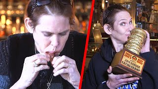 How This Woman Won $3K Wolfing Down Burgers