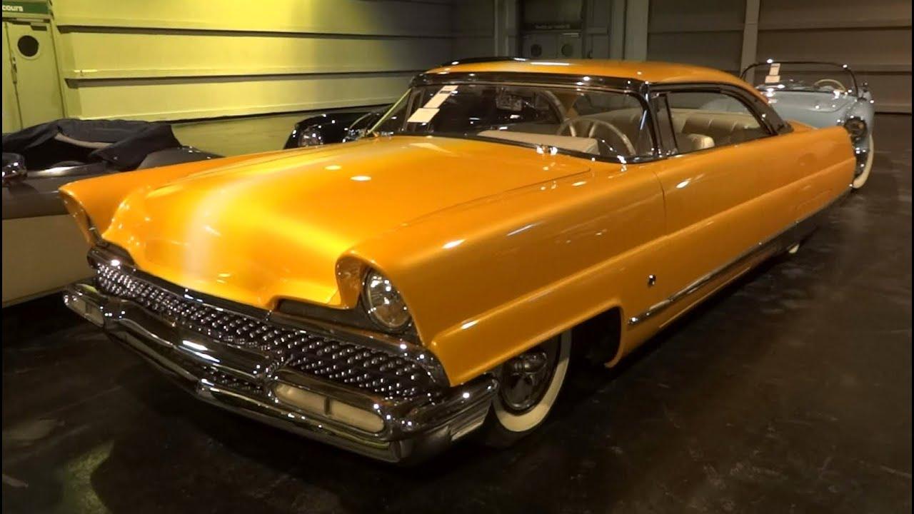 1956 Lincoln Premiere Custom Quot Dreamsicle Quot John D Agostino