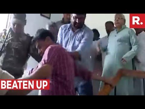 SHOCKING: Lalu Yadav Prasad's Goons Attack Republic TV