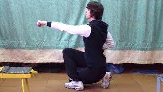 Кунг-фу: урок 9 (стойка скручивания)