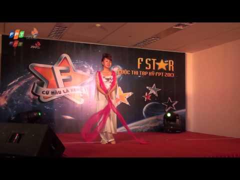 """[Sơ loại Fstar - FIS]SBD05Trần Thị Thu Trang,tiết mục """"Múa lụa hoa đào"""""""