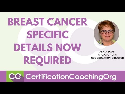 Breast Cancer Specific Details Now Required | Medical Coding Guidelines