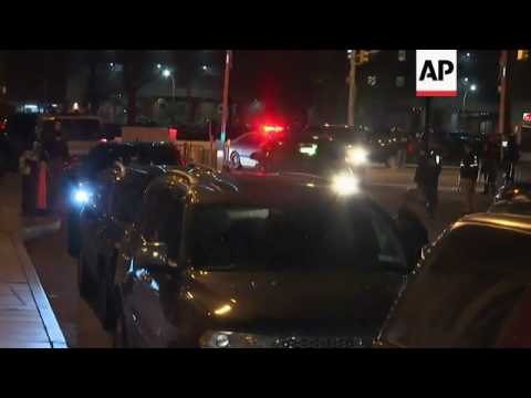 Raw: Drug Lord El Chapo Brought to Manhattan
