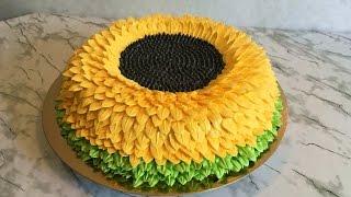 Торт Подсолнух (Очень Вкусный) / Sunflower Cake / Пошаговый Рецепт / Авторский Рецепт