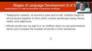Module 12: 12.4-12.7: Infant and Childhood Development