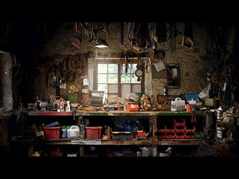 Сараи на дачном участке и фото обустройства сарая внутри