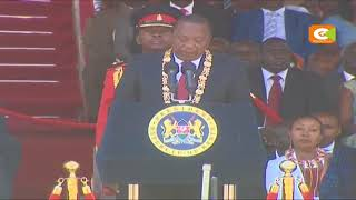 President Kenyatta outlines agendas for next 5 yrs