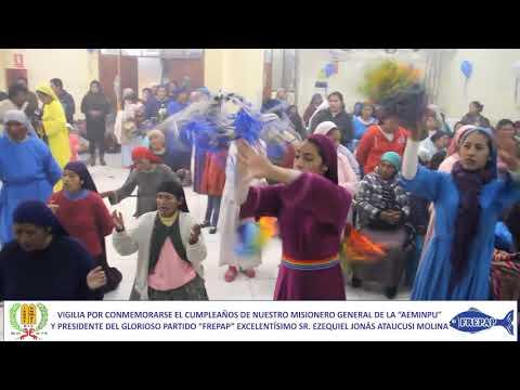 Vigilia Iglesia Israel Es Mi Pastor - Juliaca