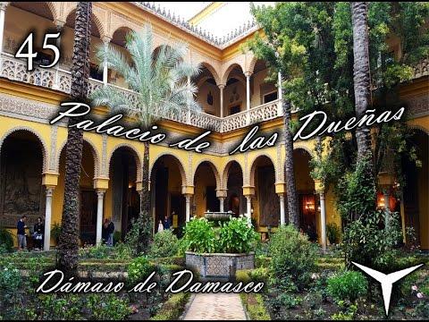 Palacio de las due as casa de alba sevilla viajando for Casas de sofas en sevilla