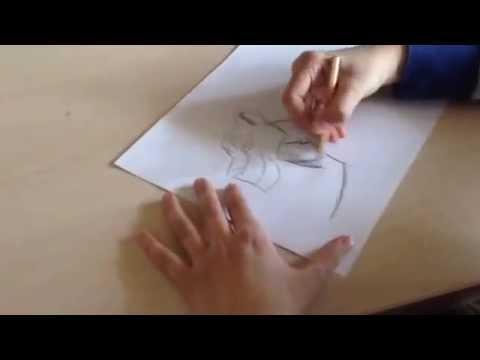 Как нарисовать Зиру из мультфильма Король лев часть 1