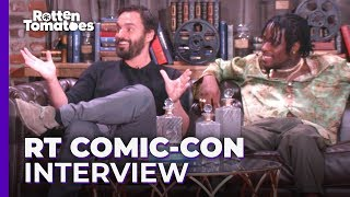 Spider-Man: Into the Spider-Verse UNCUT Comic-Con Interview | Rotten Tomatoes