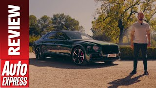 New 2020 Bentley Flying Spur Review The Ultimate Money No Object Car Youtube