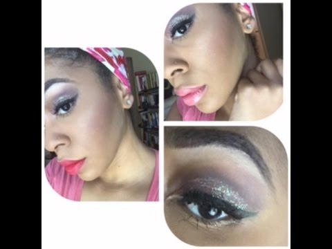Valentine's Day Look #3: Glitter Glam Makeup + 2 Lipstick Options #RWOYT Collab 2016 | x_incredibleL from YouTube · Duration:  9 minutes 31 seconds