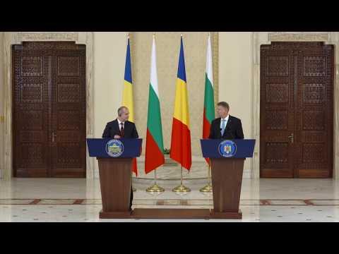 Declarație de presă comună a Președintelui României cu Președintele Republicii Bulgaria