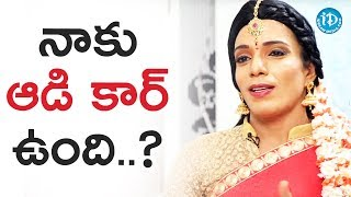 Shanthi Swaroop  About His Audi Car Rumours || Talking Movies With iDream