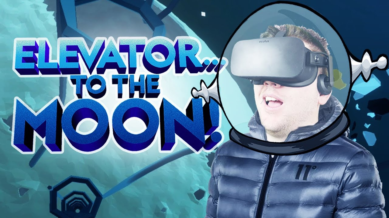 Crashing on the Moon! - Elevator to the Moon Gameplay - VR Oculus Rift