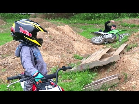Thumbnail: I FLEW OFF!! **Dirt Bike Fail**