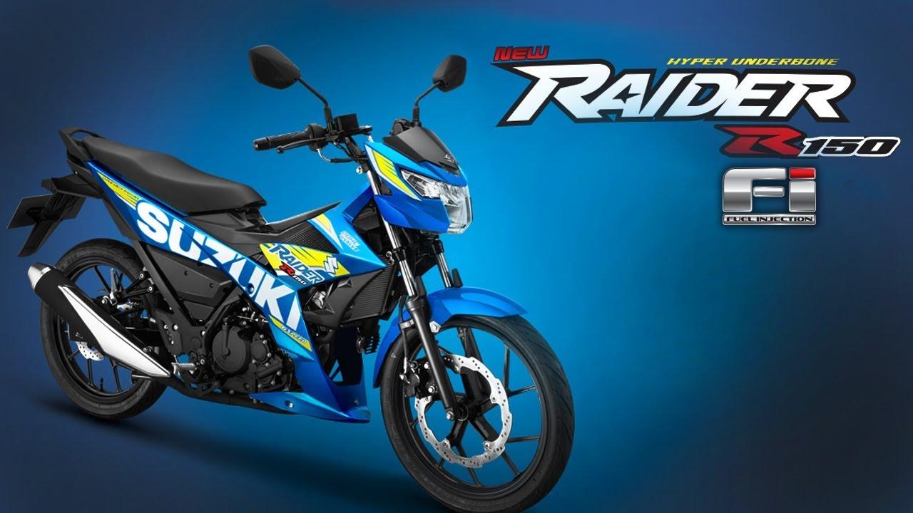 Raider R150 FI | Color Blue | 2017 Moto GP Edition | Suzuki Philippines | Motorsiklo - YouTube