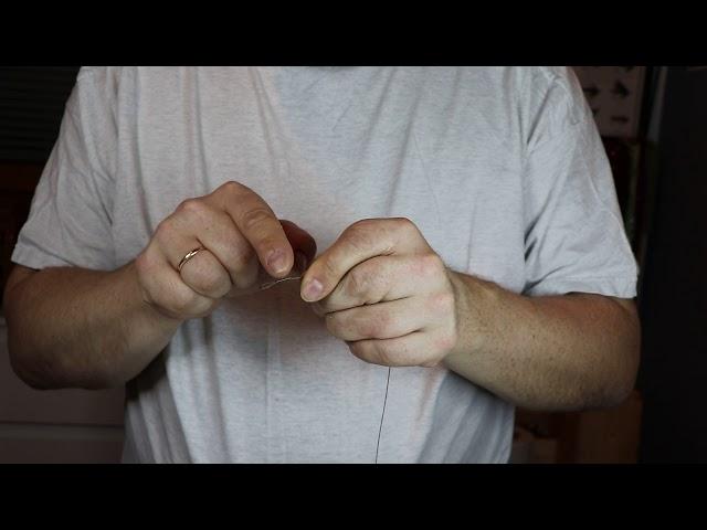 Vaijeriperukkeen tekeminen (hauen perhokalastukseen)
