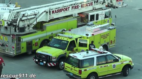 Massport Fire-Rescue + Airport Security Services