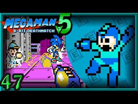Mega Man 8-Bit Deathmatch V5B Multiplayer ~ Deathmatch - Skull Tower [47]
