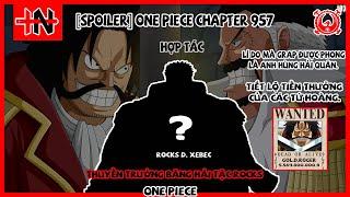 [Spoiler] One Piece Chapter 957. Tiền Truy Nã của các Tứ Hoàng, Thông Tin Về Băng Hải Tặc Rocks